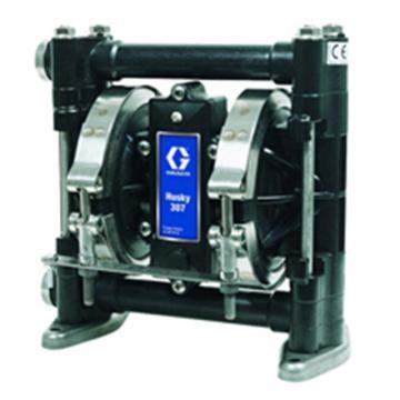 """固瑞克/GRACO D31255 3/8""""塑料壳体气动隔膜泵"""
