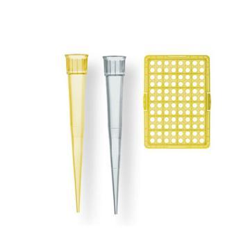 BRAND预装移液器吸头,Tip-Rack,2-200µl,未灭菌,符合IVD标准,96个/盒,10盒/箱