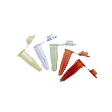 BRAND一次性微量离心管,PP材质,1.5ml,绿色,含盖,500个/箱