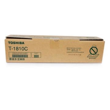 东芝(TOSHIBA) 黑色高容粉盒, 适用eS181/211/182/212/242 T-1810C-20K675克 单位:个