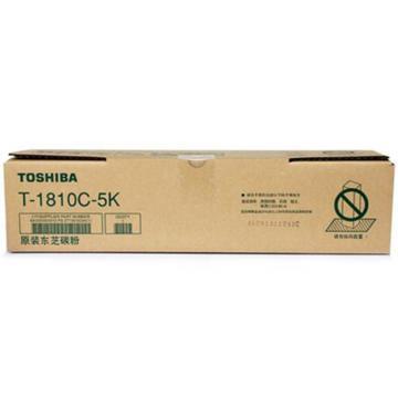 东芝(TOSHIBA)黑色低容粉盒, 适用eS181/211/182/212/242 T-1810C-5K177克 单位:个