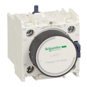 施耐德 TeSys D接触器延时辅助触点模块,LADR2