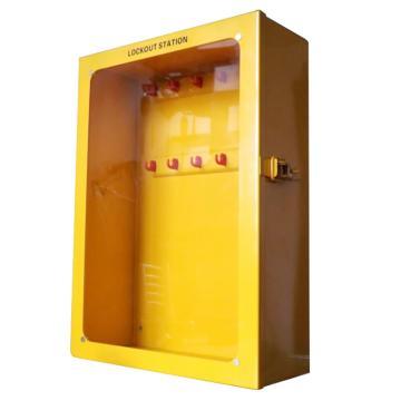 都克 组合锁具站,标准可悬挂12把挂锁,挂锁孔直径8mm,500mm高×360mm宽×150mm,S22