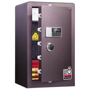 得力 电子密码保管箱(酒红) ,H800xW480xD420mm 4080