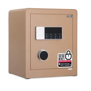 得力 电子密码保管箱(金色) ,H450xW380xD320mm 4078A