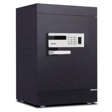 得力 电子防盗保险柜(黑色), H720xW430xD400mm 4092