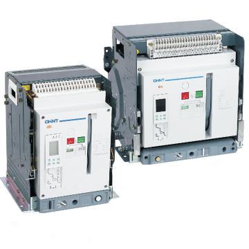 正泰 万能式断路器,NA1-2000-2000M/4P 电动固定式AC220V 不带欠压与门框 ,四段保护,低温