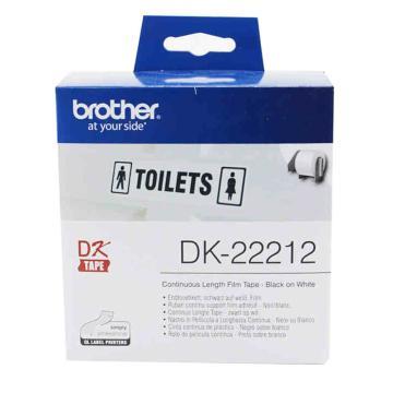 兄弟 DK色带,62mm*15.24m白底/黑字(菲林) 单位:盒