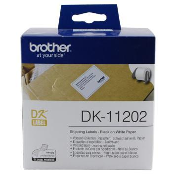 兄弟 DK色带,62mm*100mm白底/黑字(纸质300张) 单位:盒