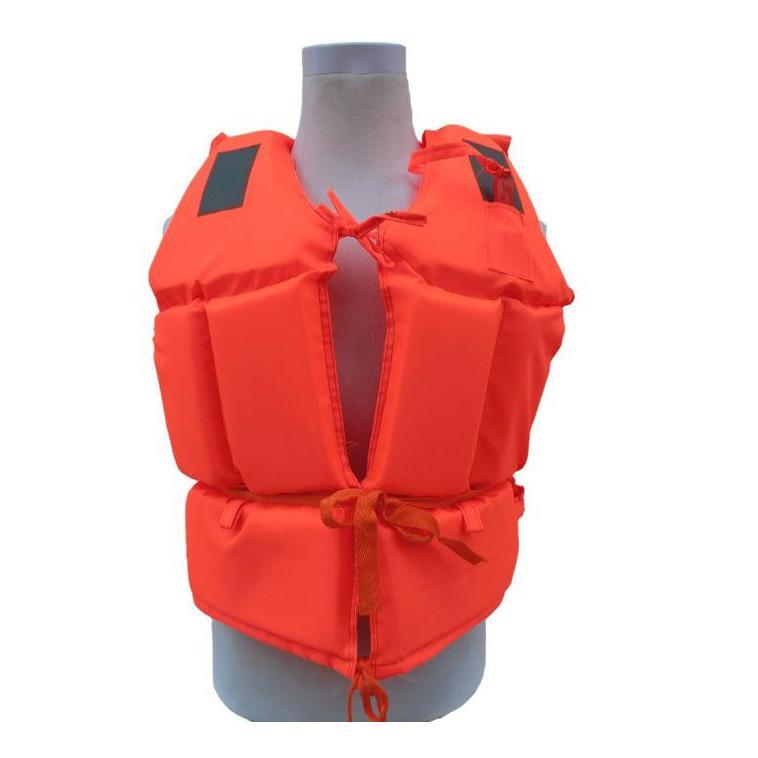安赛瑞 救生衣-高密度聚乙烯发泡,尼龙布面料,配反光片,符合GB4304-84标准,均码,14511