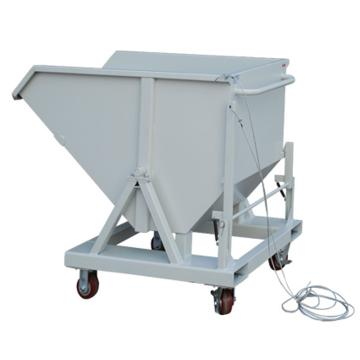 锐德 带叉车孔铁屑车,额定载重(kg):500 产品尺寸(mm):1200L*700W*970H 含四脚轮 灰白色,TXC04
