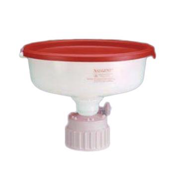 NALGENE安全废液漏斗,高密度聚乙烯漏斗和盖,聚丙烯盖和漏斗适配器,PTFE通气滤膜,NALGENE盖尺寸38-430