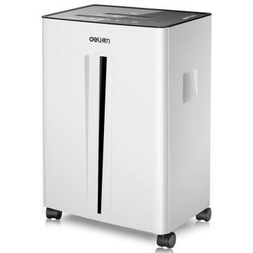 得力(deli)大容量办公碎纸机, 5级保密多功能碎纸机(白) 9916 单位:台