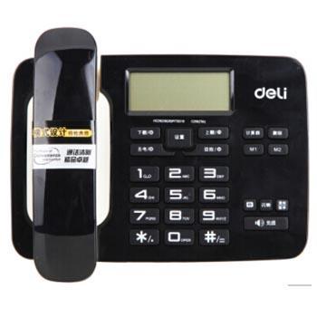 得力 电话机,(黑色)794(台)