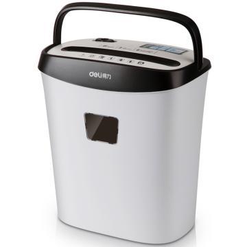 得力(deli) 电动办公碎纸机,桌面A4粉碎机迷你家用碎纸机9928 白色 单位:台