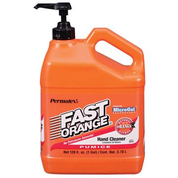 Permatex快洁橘味洗手液,油污洗手液25128, 3.78L 4桶/箱 价格为单桶