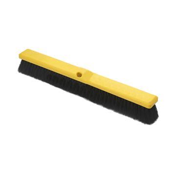 特耐适(Trust)中型地板刷,610mm_PP_0.3刷丝_ 黄黑色,6653