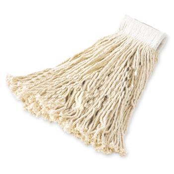 乐柏美经济型棉质与人造纤维齐尾湿拖把,拖布尺寸:20#