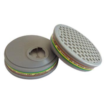 百安达滤盒,防有机、无机和酸性或蒸汽、氨的气体