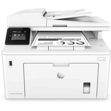 惠普(HP) 黑白激光多功能一体机,A4 (打印 复印 扫描 传真)自动双面M227fdw 单位:台