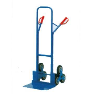 西域推荐 钢制爬梯型手推车,含实心橡胶轮胎 200Kg,HT-S1325