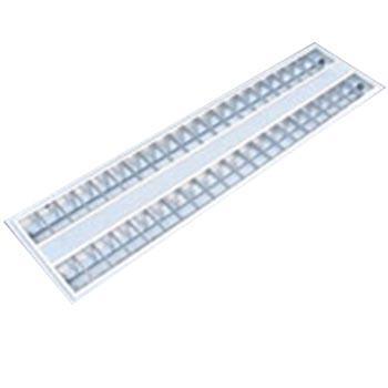津达 T5 LED 格栅灯盘 JD214 含光源 2*14W 双端进电T5 LED灯管 白光 T型龙骨安装 外型尺寸:298*1198*52mm 整箱,2个每箱