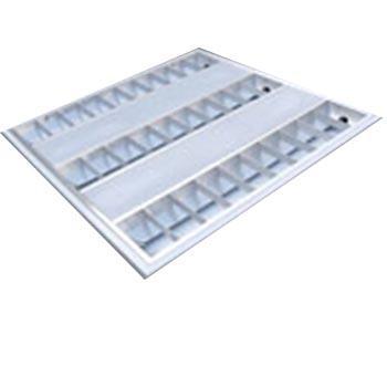 津达 T5 LED 格栅灯盘 JD38 含光源 3*8W 双端进电T5 LED灯管 白光 T型龙骨安装 外型尺寸:598*598*55mm 整箱,2个每箱
