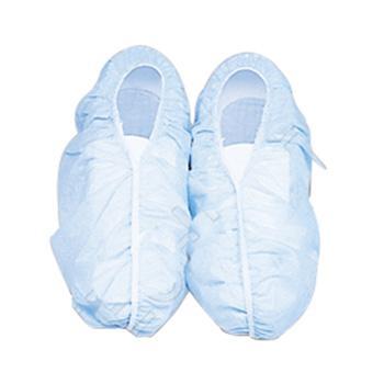 爱马斯AMMEX 鞋套,BOOTIE-SC,蓝色无纺布,100个/袋
