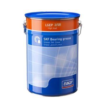 斯凯孚SKF 轴承润滑剂,LGEP 2/18,18kg/桶