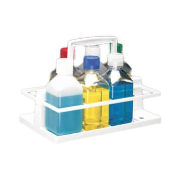 NALGENE多瓶搬运架,白色聚碳酸酯