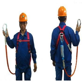 奎楼 安全带套装,GZ-Y(Q-D)全身式单大钩,全身式单挂点安全带套装,单头大钩