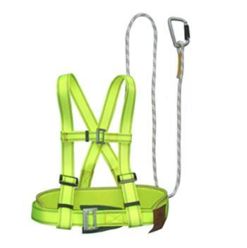 上海 双背安全带套装,61303H,1.8m绳长