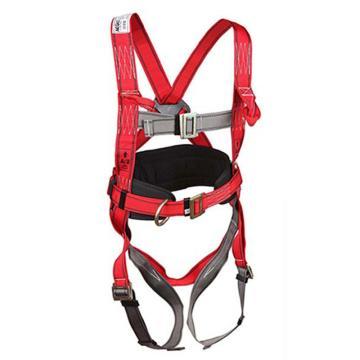 羿科 带护腰全身式安全带,60816705,PN32全身式三挂点带护腰安全带