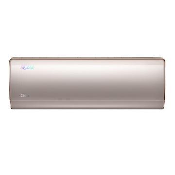 美的 舒适星1.5匹全直流变频冷暖空调挂机,KFR-35GW/BP3DN1Y-TA200(B2)雅仕金,二级能效,智能WiFi,区域限售
