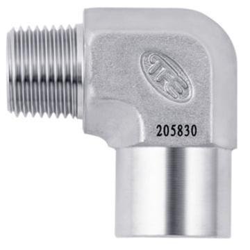 """JPE BS6-SE04-R 内外牙弯头,1/2""""PT不锈钢316"""