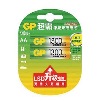 超霸 镍氢充电电池 ,GP130AAHC-2IL2 单位:卡
