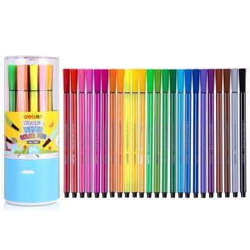 得力 水彩笔(24色) ,7067 单位:桶