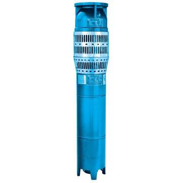 山西天海/SKYSEA QJ型灰铁井用潜水泵 250QJ125-16/1 (整泵,含泵头与电机),带出口配对法兰