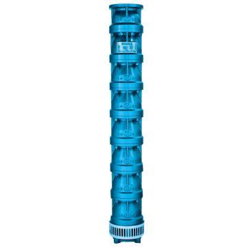 山西天海/SKYSEA QJ型灰铁井用潜水泵 200QJ40-234/18 (单泵头,不含电机),带出口配对法兰