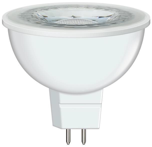 欧司朗 220V MR16 LED射灯光源 MR16 50 S 6.5W 6500K 36˚GU5.3只含灯杯 功率6.5W(替代50W低压卤素灯杯)白光
