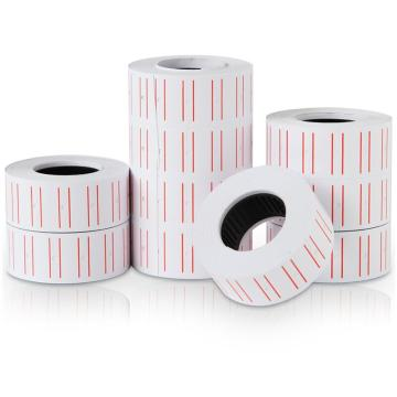 得力(deli) 3210 通用单排标价纸21.5×12mm 10卷/筒