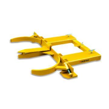 西域推荐 油桶搬运夹(抱式),钢制双桶 可调(叉车专用),DG45