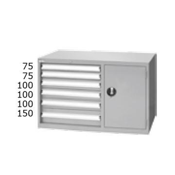 天钢 标准型工具柜,高H*宽W*深D:700*1000*515 抽屉荷重(kg):50,ELS-276