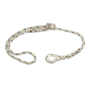 代尔塔DELTAPLUS 限位系绳,502021,EX021三股可调节定位安全绳 12mm