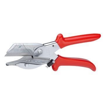 凯尼派克 Knipex 斜切剪(用于剪切塑料和橡胶的型材)如带状电缆,长215mm,94 35 215