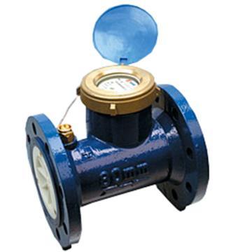 埃美柯/AMICO 铁壳水平螺翼式全液封冷水表,LXLY-80E,法兰连接,销售代号:014-DN80