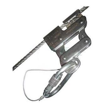 达克泰 抓绳器,58482,防坠器 用于直径为8mm的钢丝绳防坠落系统