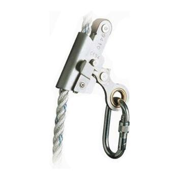 代尔塔DELTAPLUS 抓绳器,503060,AN065 适合14-16mm安全绳