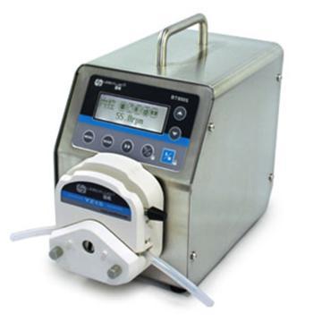 基本调速型蠕动泵,BT600S(不锈钢304机箱)泵头YZ15,单通道流量(毫升/分钟)0.006~2300,通道数量1