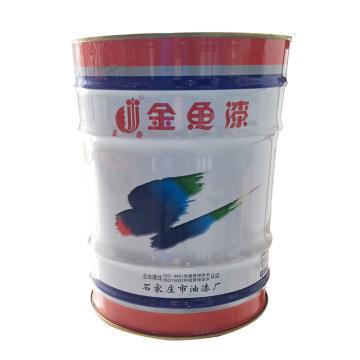 石家庄金鱼 醇酸磁漆,大红色R03,14kg/桶